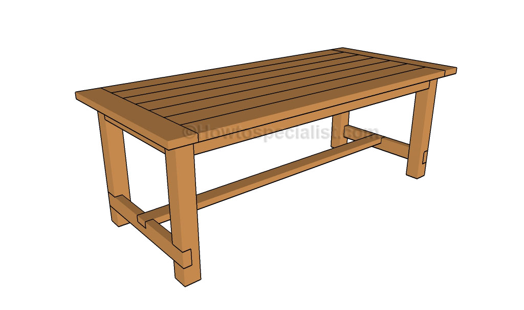 ... Table Plans  HowToSpecialist - How to Build, Step by Step DIY Plans
