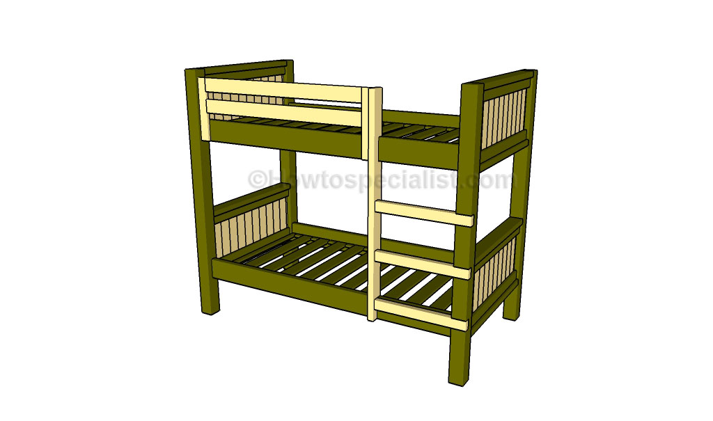 Good How to build a bunk bed