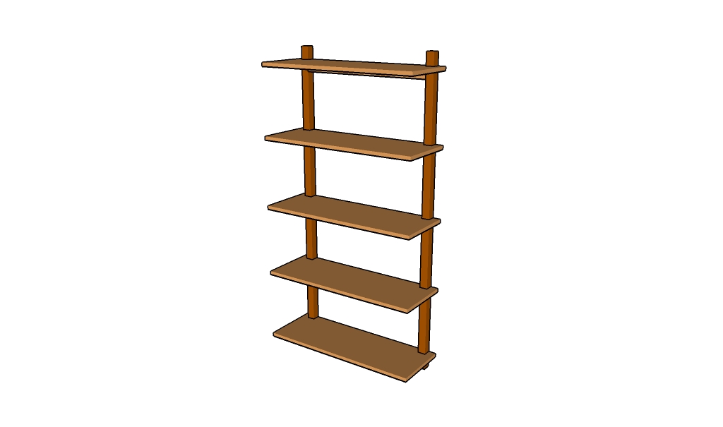 How to build wall shelves howtospecialist how to build for How to make wall shelves easy