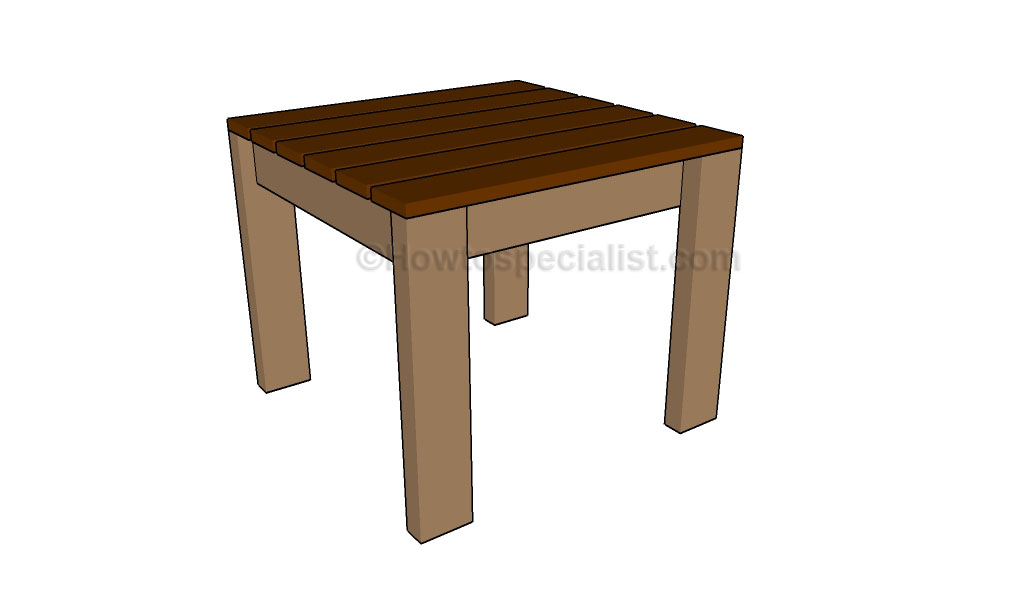 Wooden End Table Plans Download simple wooden desk plans | woodideas ...