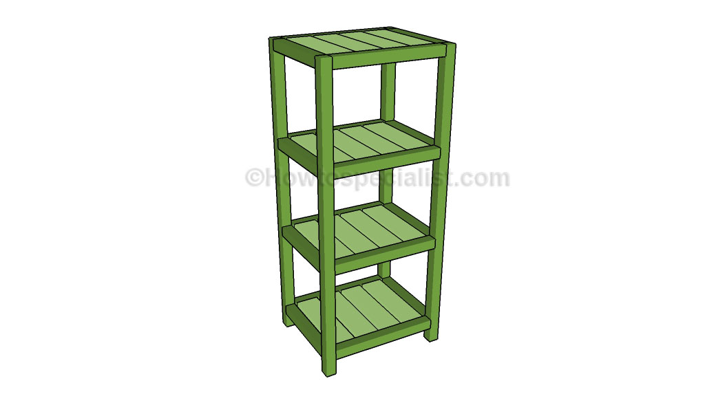 Small etagere plans