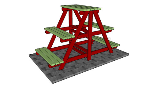 A Frame Plant Stand Plans Howtospecialist How To Build