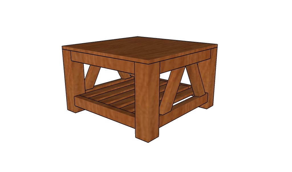free coffee table free coffee table plans