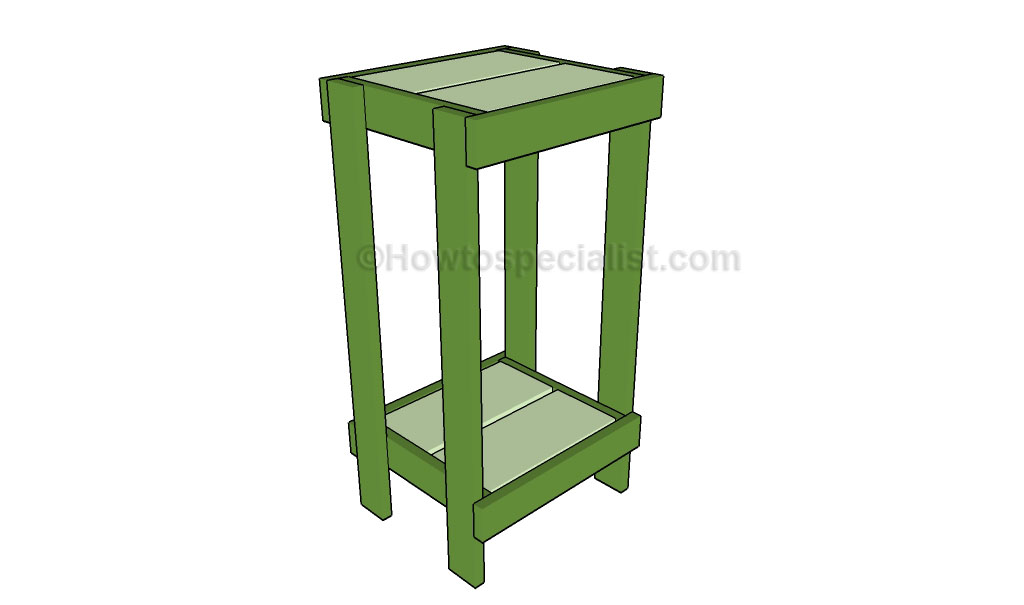 How To Build A Plant Stand Howtospecialist How To