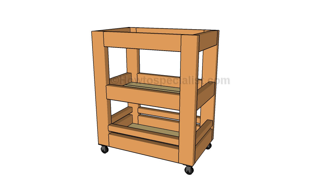 Kitchen cart plans