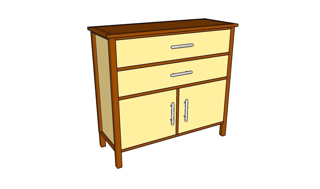 Simple Dresser Plans