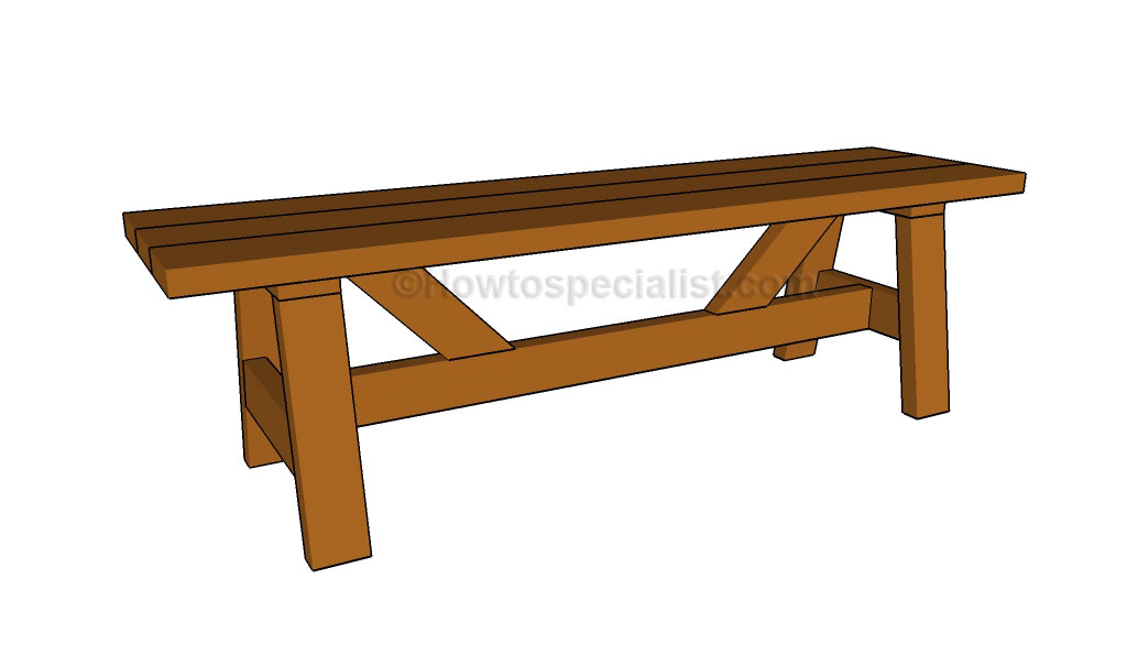 Wooden Bench Ideas Part - 37: Wooden Bench Plans