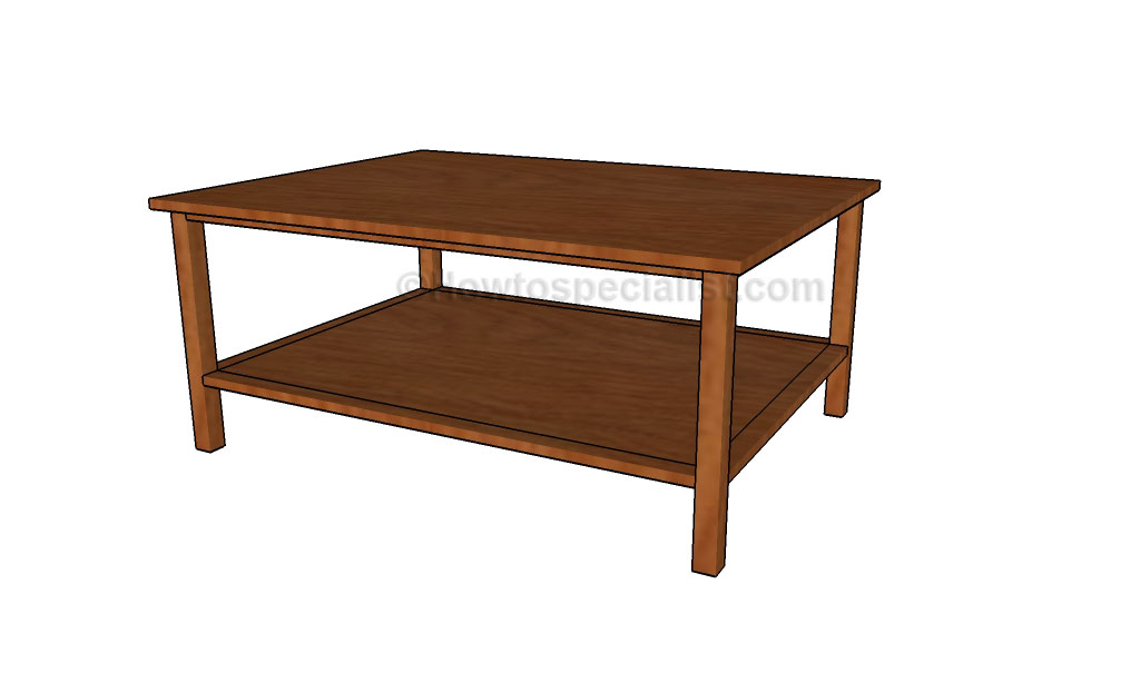diy coffee table plans | howtospecialist - how to build, step Build Your Own Coffee Table Plans