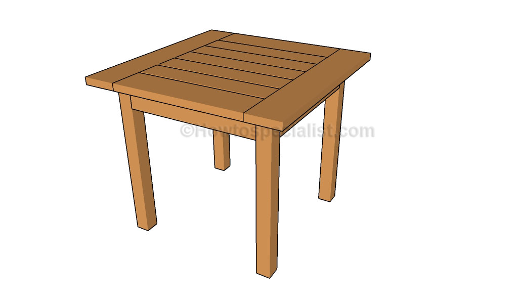Snack Table Plans Download Wood Plans