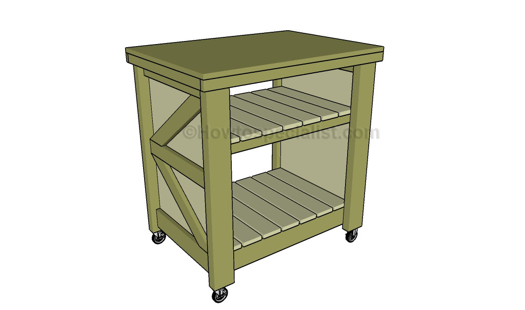 how to build a small kitchen island | howtospecialist - how to