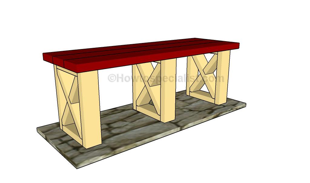 Park bench plans1