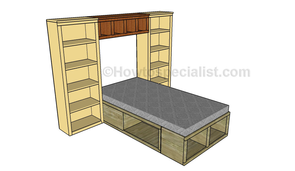 Simple This step by step diy woodworking project is about bed hutch plans If you want to learn more about building a bed hutch we remend you to pay attention