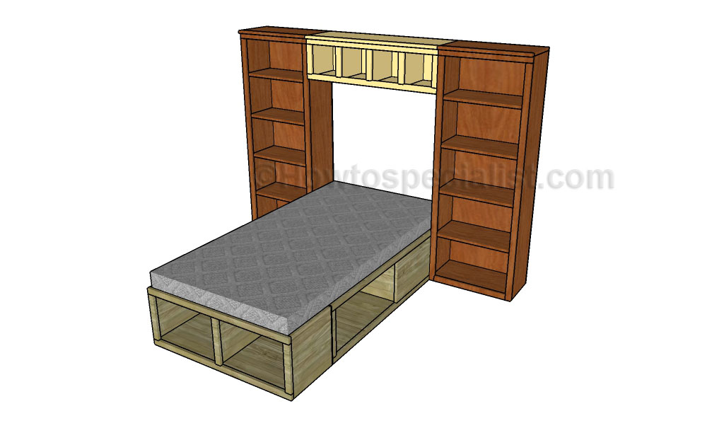 Bed hutch plans