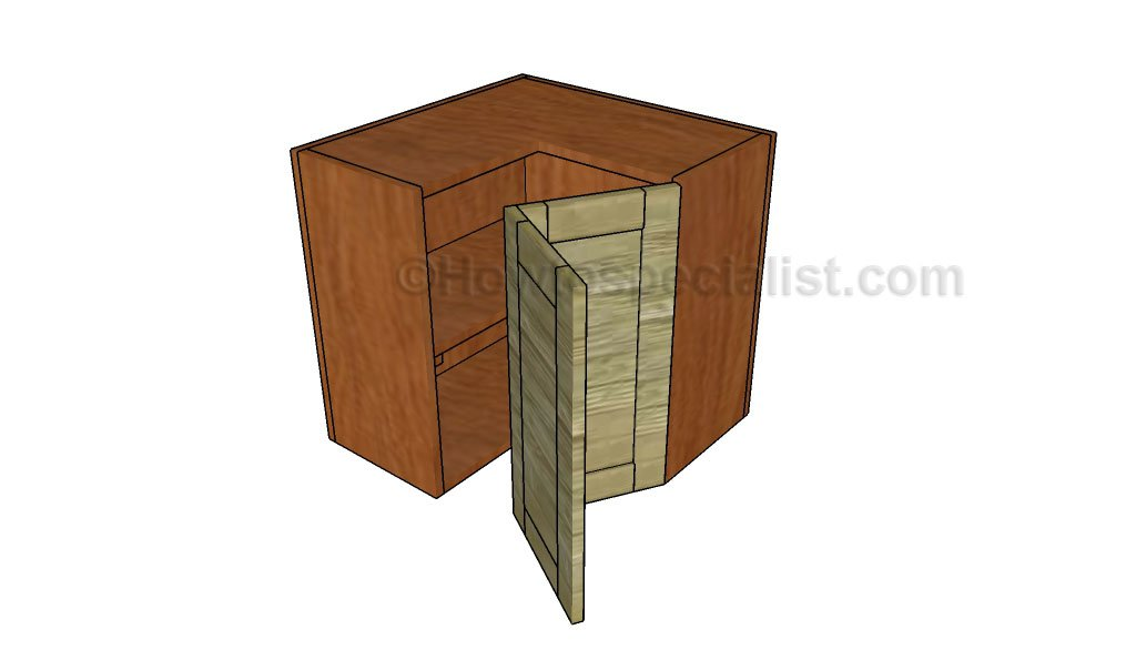 Corner Cabinet Plans Howtospecialist How To Build Step By Step
