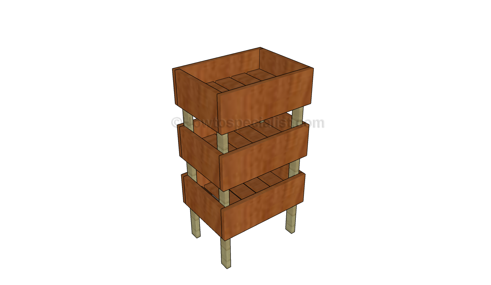 Fruit crates plans