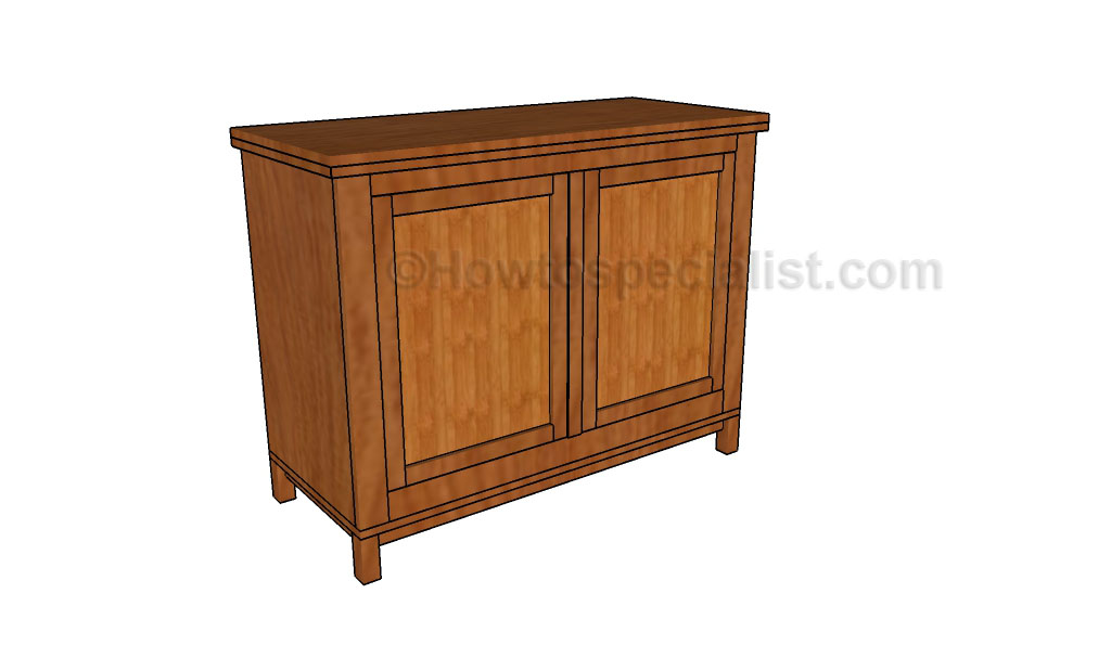 Sideboard Plans Howtospecialist How To Build Step By Step Diy Plans