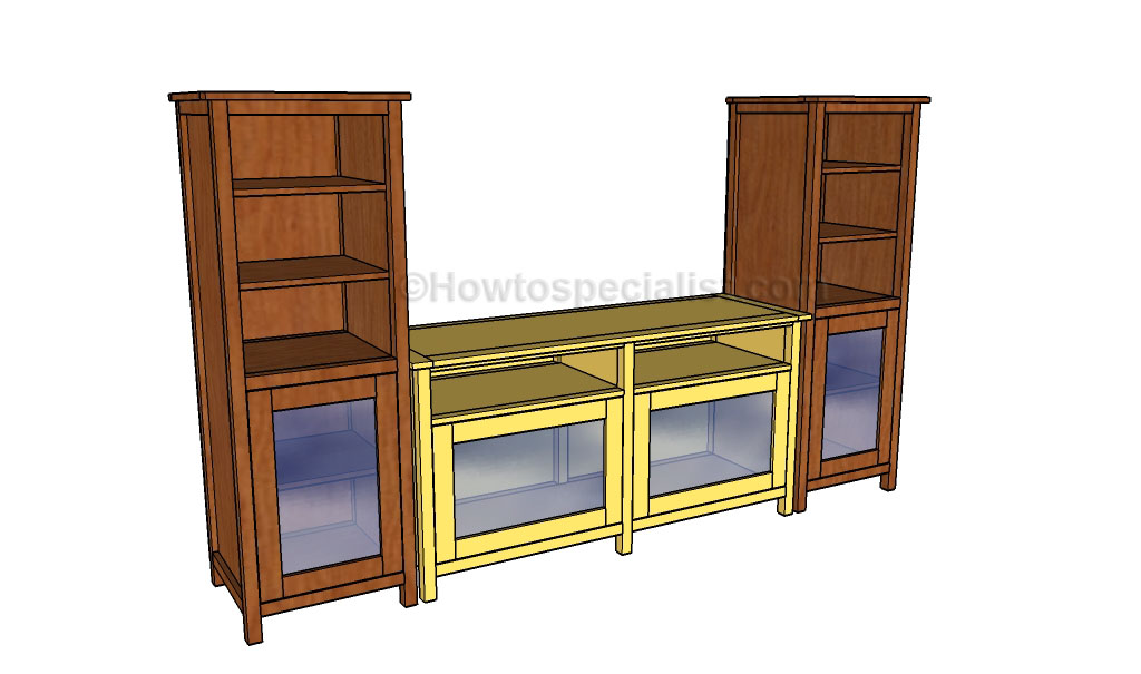 How To Build An Entertainment Center Howtospecialist
