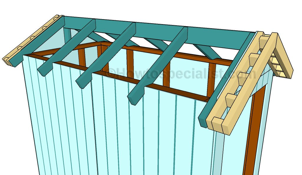 Garden Shed Roof Plans Howtospecialist How To Build