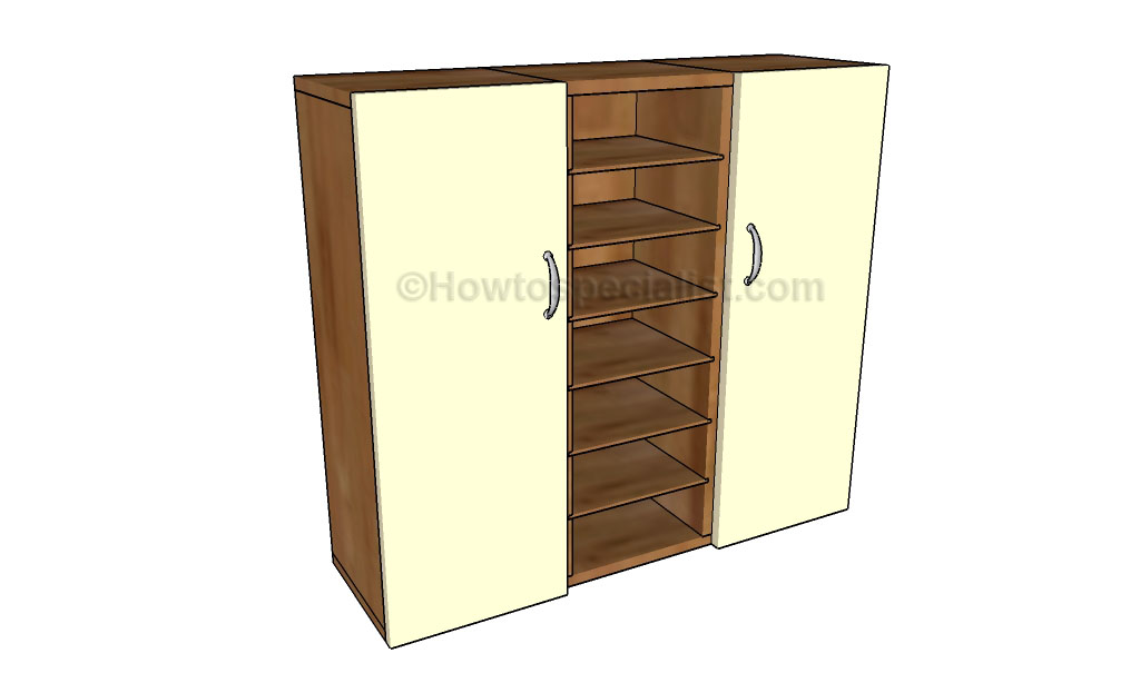 Garage cabinets plans | HowToSpecialist - How to Build, Step by Step ...