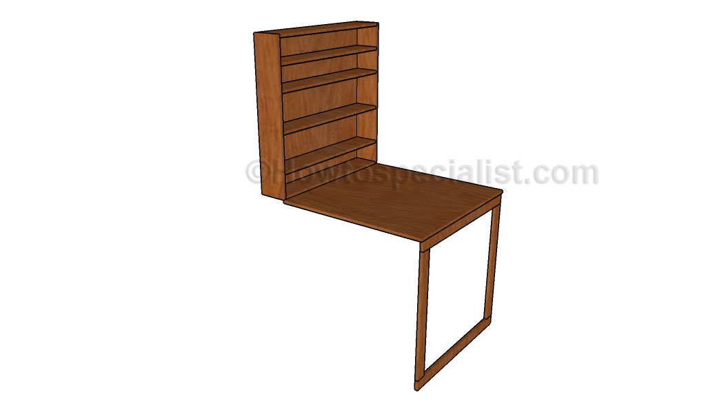 how to build a drop down desk howtospecialist how to