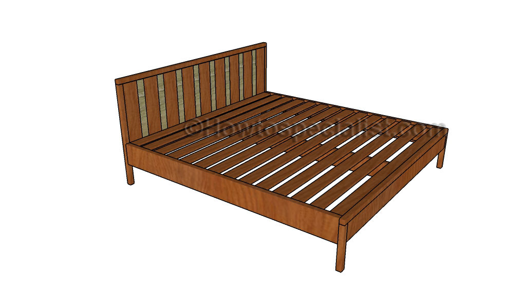 Stunning If you want to learn more about building a beautiful king size bed frame made out of wooden boards