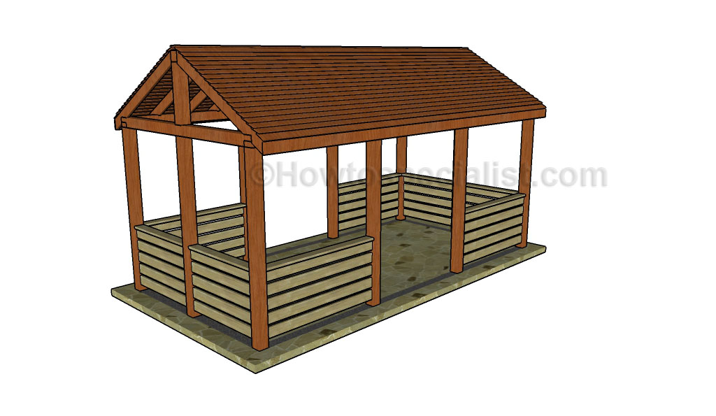 Vintage Outdoor pavilion plans