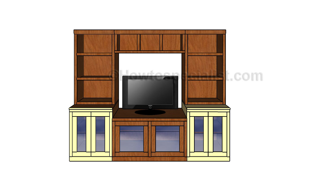 This Step By Step Diy Woodworking Project Is About Wall Entertainment  Center Plans. If You Want To Learn How To Build A Media Center Console, We  Recommend ...