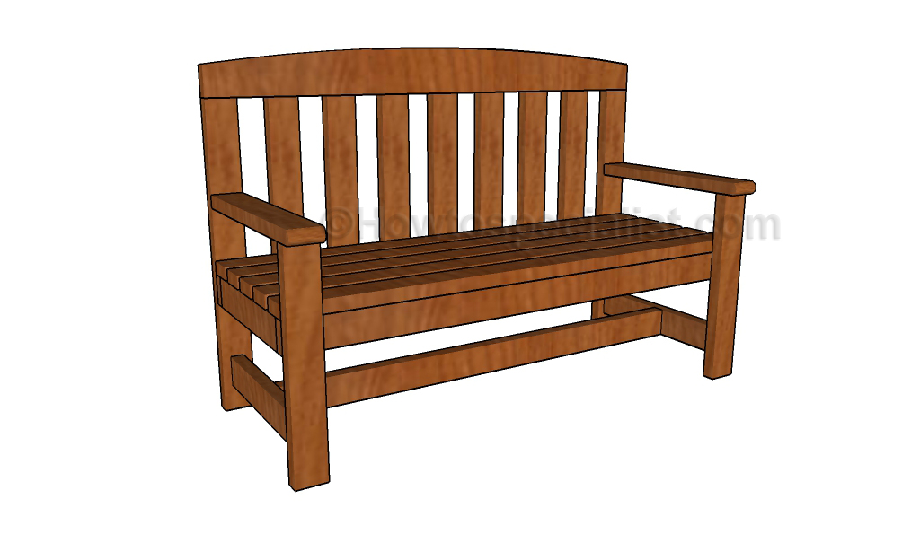 2x4 Bench Plans Howtospecialist How To Build Step By Step Diy Plans