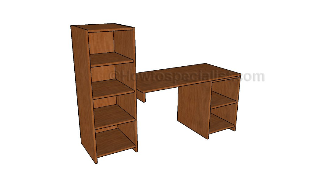 Desk with storage plans_HTS