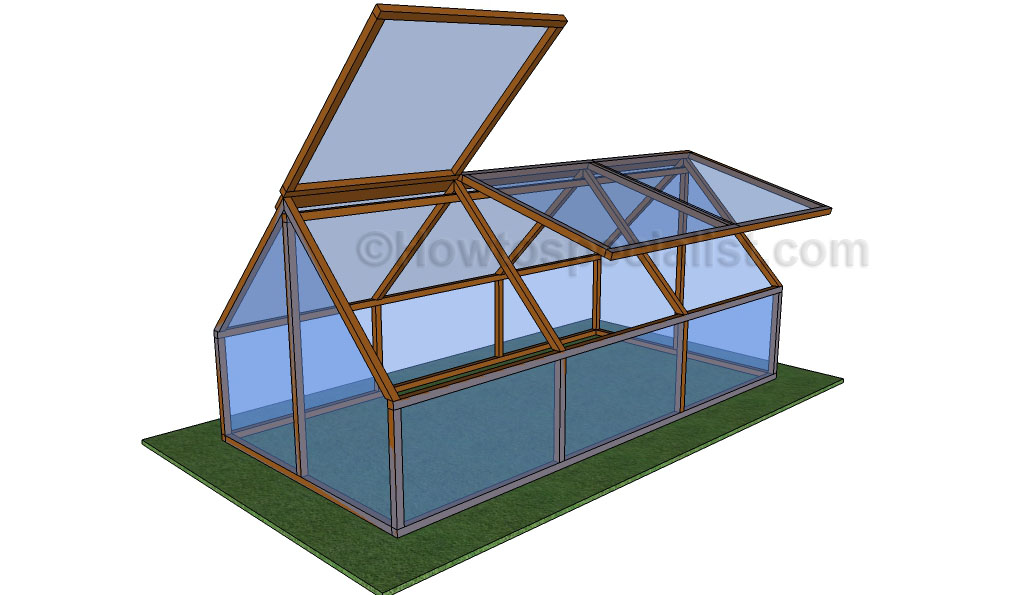 Diy greenhouse plans howtospecialist how to build for Greenhouse design plans
