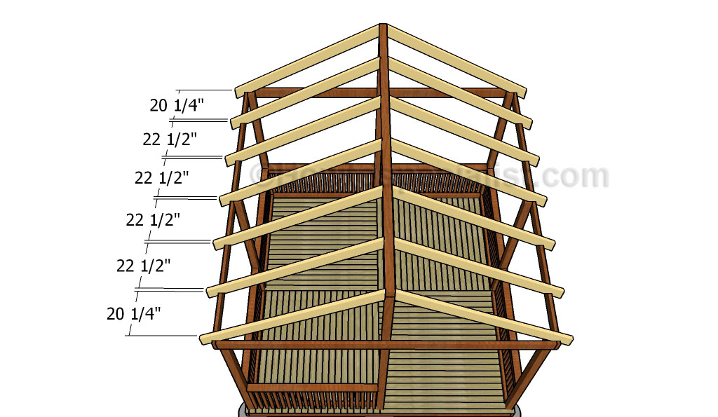 This Step By Step Diy Woodworking Project Is About Square Gazebo Roof  Plans. This Article Features Detailed Plans For A Building A Gazebo Gable  Roof.