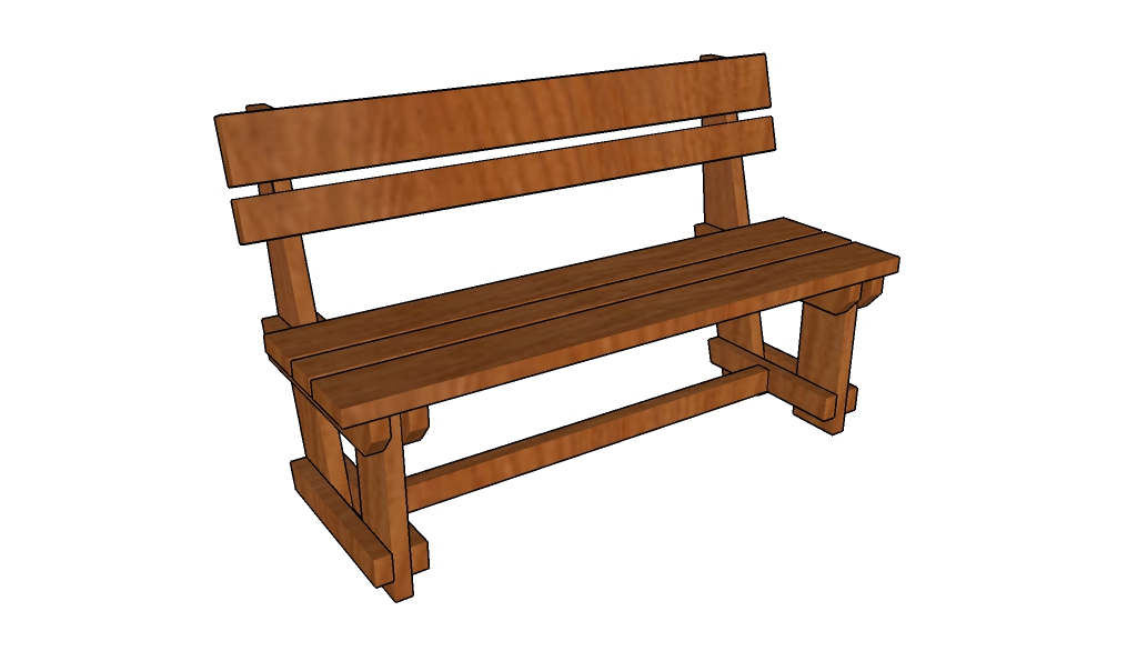 Garden bench plans How to build a park bench How to build a garden ...