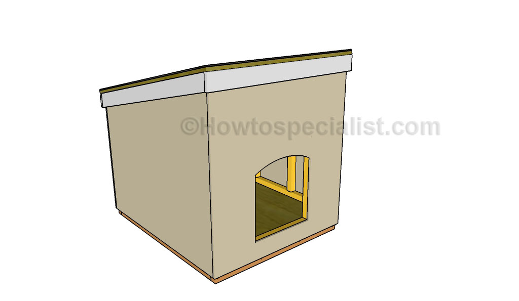doghouse | howtospecialist - how to build, stepstep diy plans