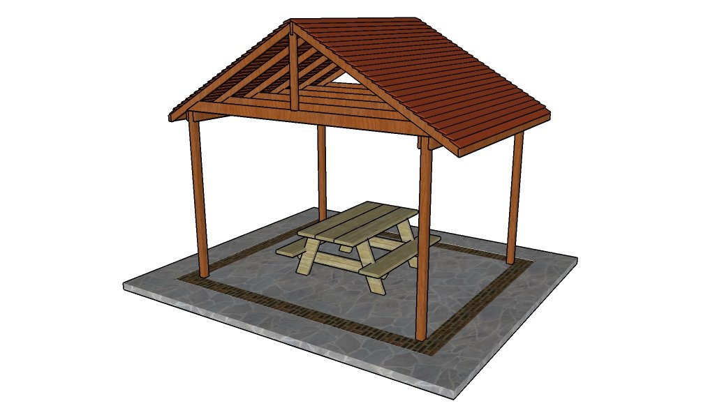 Outdoor pavilion plans | HowToSpecialist - How to Build ...