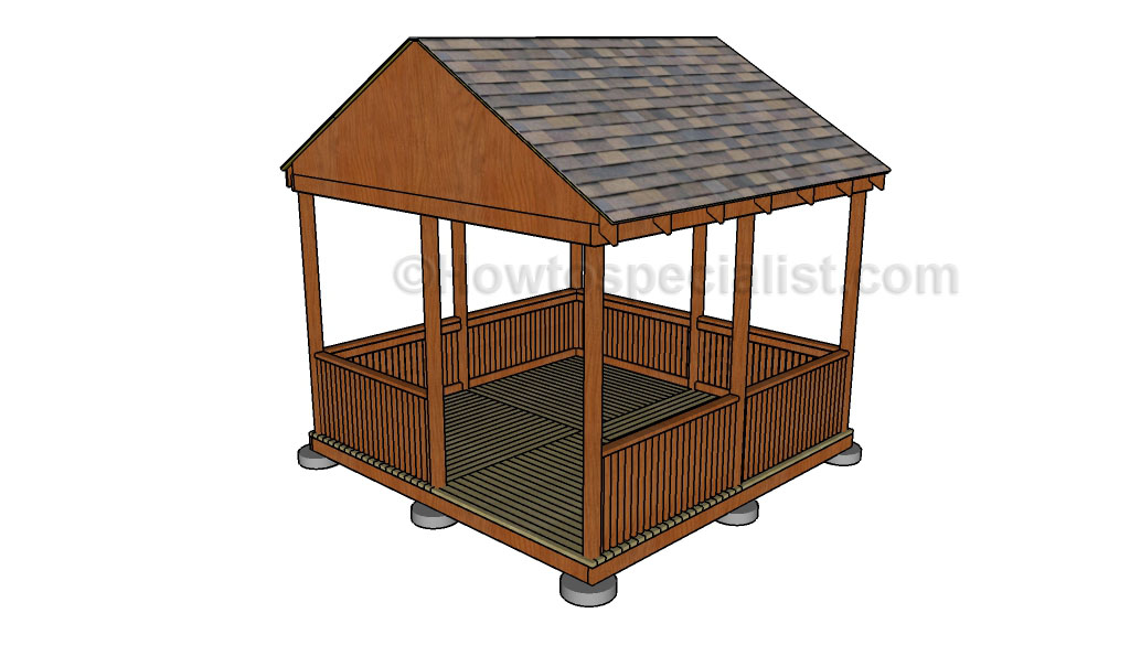How To Make A Gazebo Howtospecialist How To Build