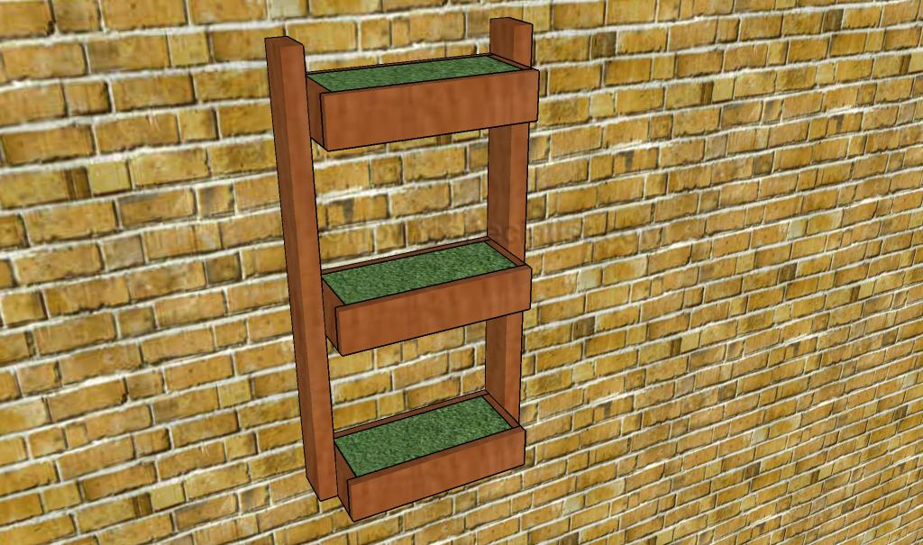 Wall planter plans