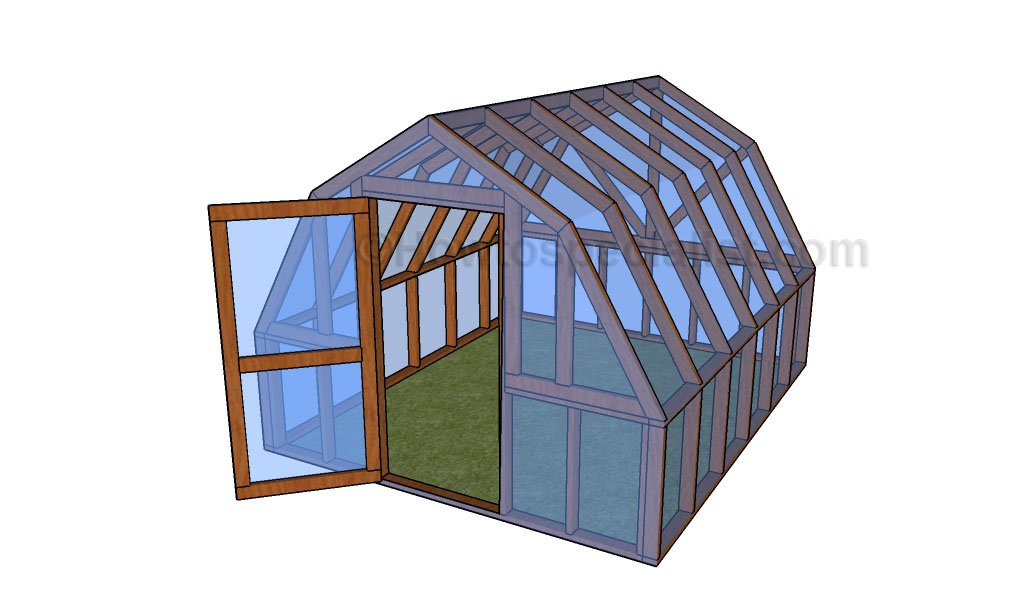 Barn greenhouse plans