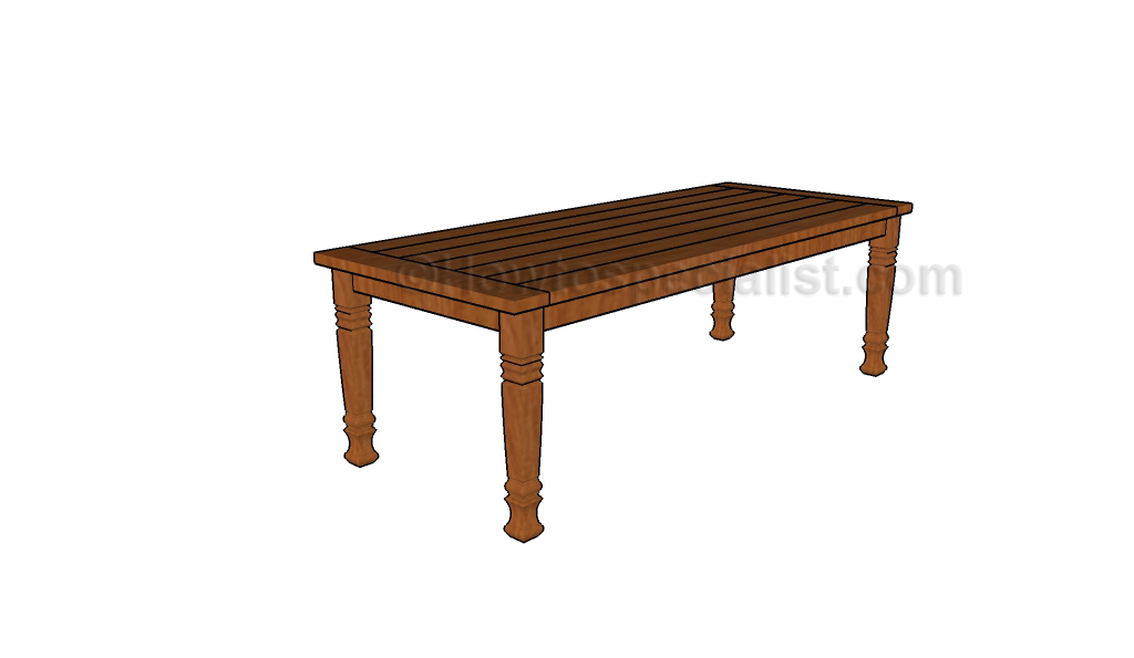 plans for wooden garden table online woodworking plans