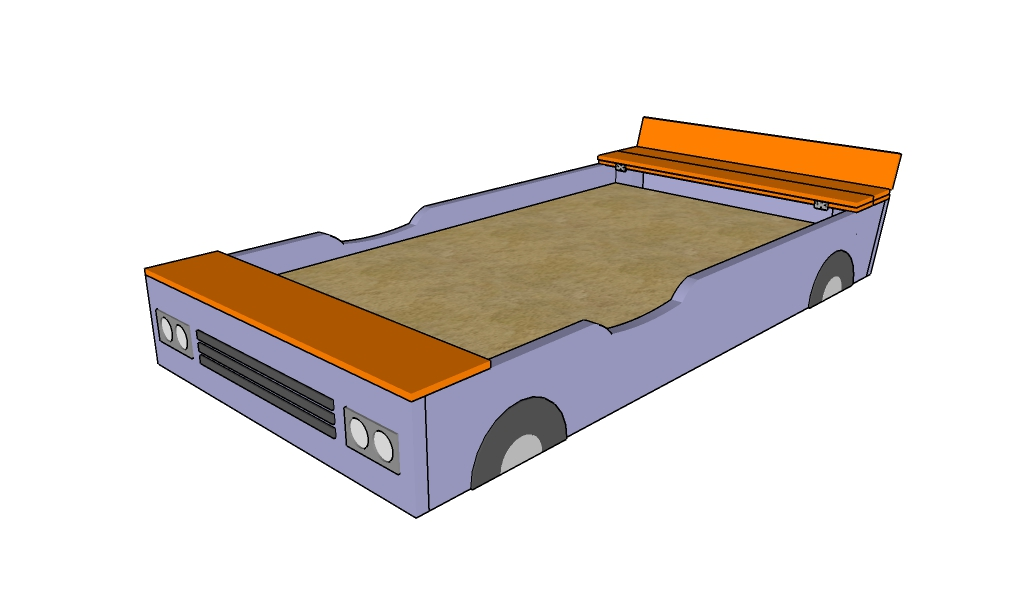 Sandbox with bench plans