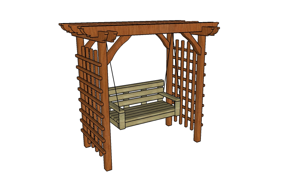 Arbor swing plans | HowToSpecialist - How to Build, Step by Step DIY ...
