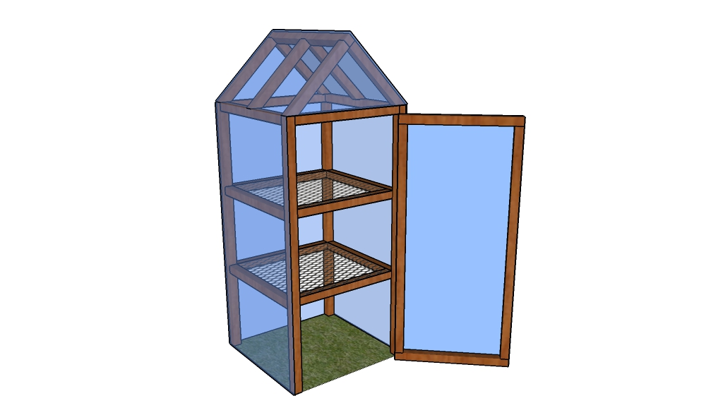 Small Home Greenhouse Plans Plan