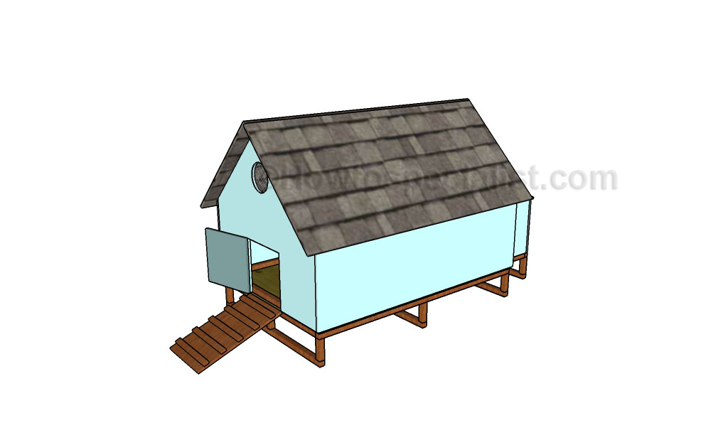 Simple chicken coop plans_HTS