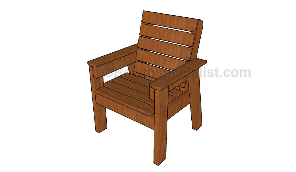How to build an outdoor chair