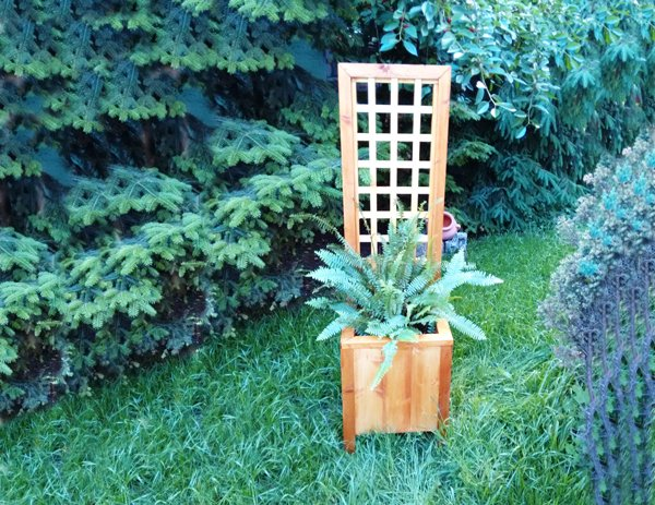 DIY-Planter-with-Trellis