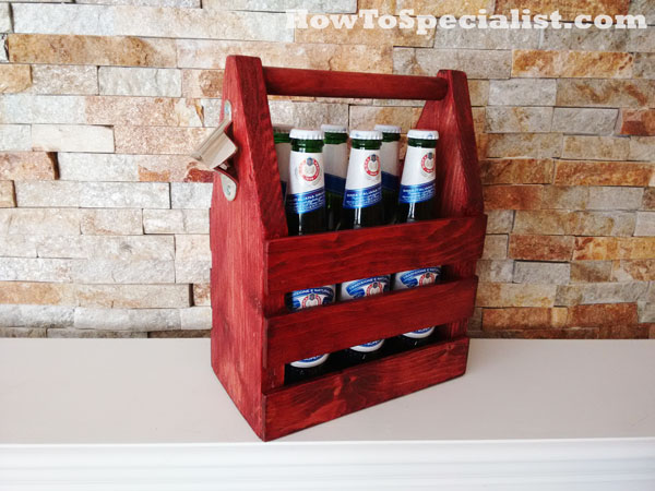 How to build a beer tote
