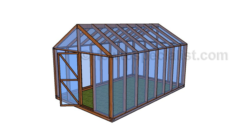 How to build a cold frame howtospecialist how to build for Greenhouse design plans