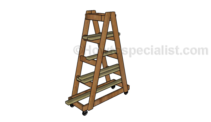 Lumber Rack Plans Howtospecialist How To Build Step