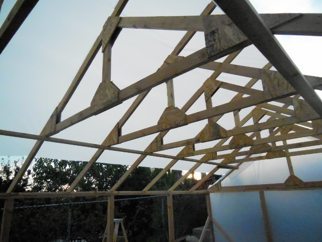 Diy small greenhouse howtospecialist how to build for Building a wood frame greenhouse