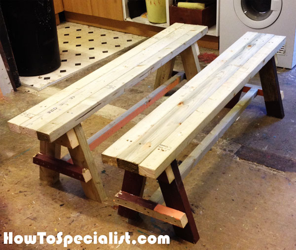 DIY Bench Seat | HowToSpecialist - How to Build, Step by Step DIY ...