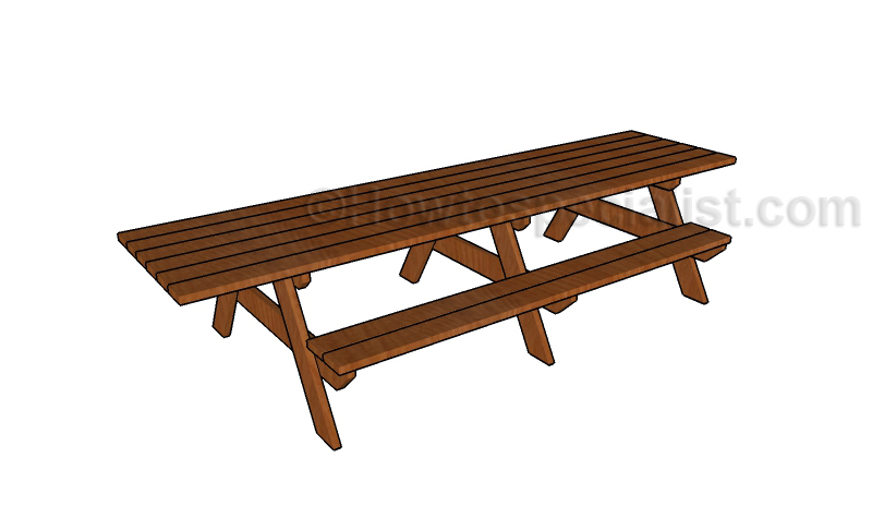 12 39 picnic table plans howtospecialist how to build